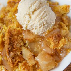 Resep Membuat Apple Crumble